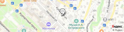 ПАРУС на карте Сочи