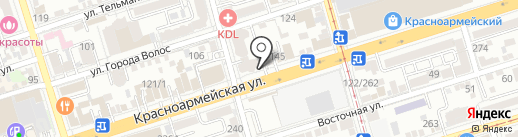 Мультик на карте Ростова-на-Дону