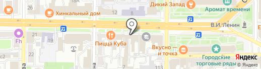 Банкомат, Всероссийский банк развития регионов на карте Рязани