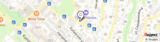 Первый Визовый Центр Сочи на карте Сочи