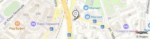 Bobrus studio на карте Сочи