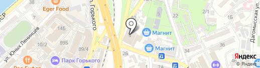 Раки23 на карте Сочи
