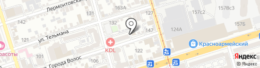 ДзанСин на карте Ростова-на-Дону