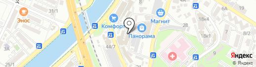 Алькар на карте Сочи