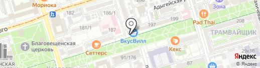 Магазин обуви на карте Ростова-на-Дону