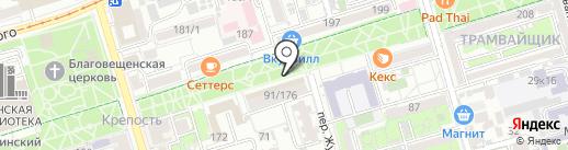 Coffee & Donuts на карте Ростова-на-Дону