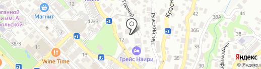 Горный-5 на карте Сочи