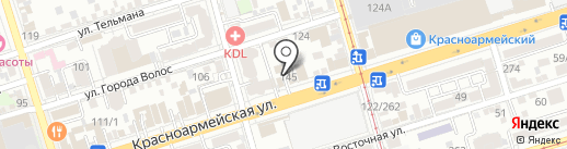 Ковчег детства на карте Ростова-на-Дону