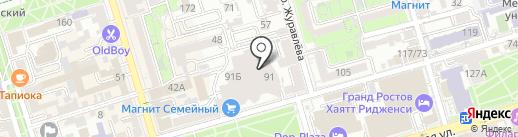 Титан Сервис на карте Ростова-на-Дону