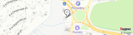Лиман на карте Ростова-на-Дону