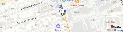 Еда! на карте Ростова-на-Дону