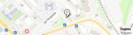 Гагаринский, ТСЖ на карте Рязани