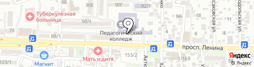 Спортивная секция по тхэквондо ИТФ на карте Ростова-на-Дону