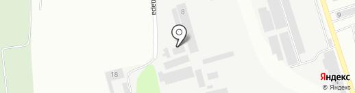 Грамотная мебель на карте Батайска