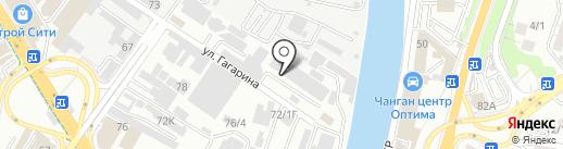 СТО на карте Сочи