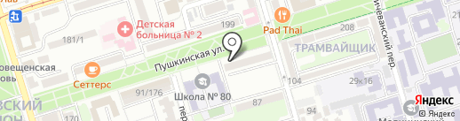Mon Soo на карте Ростова-на-Дону