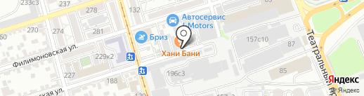 ZERKALO на карте Ростова-на-Дону
