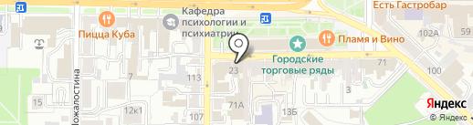 ПОРТ СИГАР на карте Рязани