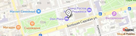 Туристско-информационный центр на карте Ростова-на-Дону