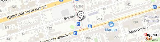 Киоск по ремонту часов на карте Ростова-на-Дону