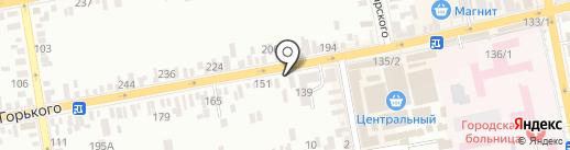 Пломба на карте Батайска