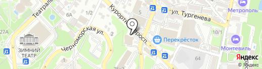 Единый центр Недвижимости на карте Сочи