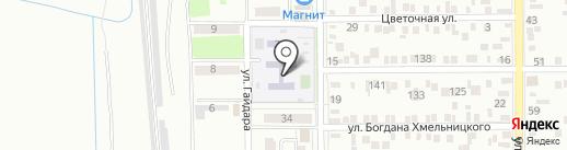 Детский сад №149, Матрешка на карте Батайска