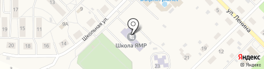 Дубковская средняя общеобразовательная школа на карте Дубков