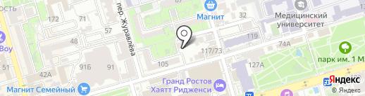 INOAR на карте Ростова-на-Дону