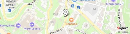 BOURBON на карте Сочи