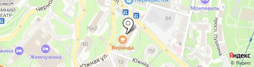 Chemodan на карте Сочи