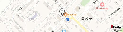 Участковый пункт полиции на карте Дубков