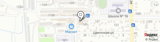 Станция напитков на карте Батайска