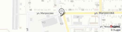 СТЭНКО-ЮГ на карте Батайска