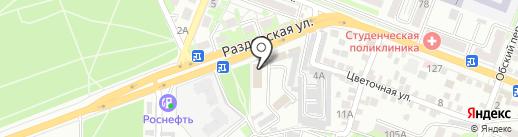 Ростовгоргаз на карте Ростова-на-Дону