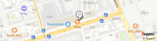 HOPS CraftBAR на карте Ростова-на-Дону