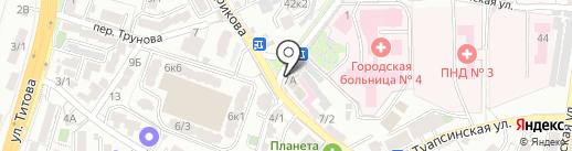 Советская пивная на карте Сочи