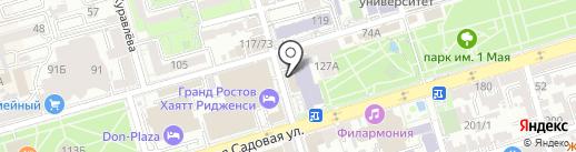 Улыбка на карте Ростова-на-Дону