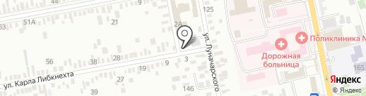 Прометей-Газстрой на карте Батайска