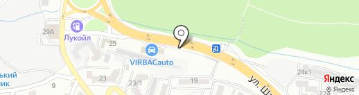 Сауна с веничком на карте Ростова-на-Дону