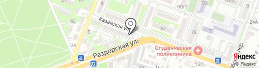 Ceragem на карте Ростова-на-Дону