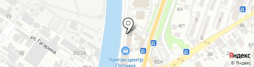 Сочиавтотехснаб, ЗАО на карте Сочи