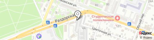 Клетка на карте Ростова-на-Дону