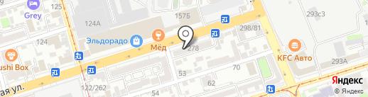 Ростовский комбинат шампанских вин на карте Ростова-на-Дону