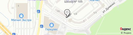Уют Дон строй на карте Ростова-на-Дону
