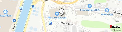 Преображение на карте Сочи