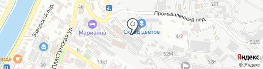 БархатЪ на карте Сочи