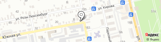 Ростовские хлебцы на карте Батайска