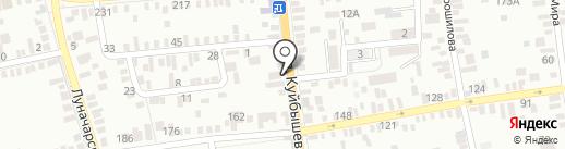 Скат на карте Батайска