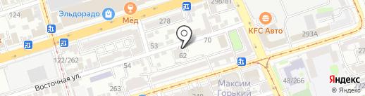 Make up Secret на карте Ростова-на-Дону